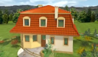 Casa pe structura metalica - Agata