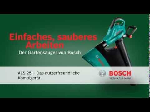 Aspirator/suflator frunze 2500 W Bosch Gradinarit ALS 25 BOSCH