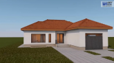 Proiect casa EVA, parter, 3 camere, 98 mp