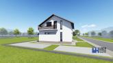 Proiect casa ALLENA  P  M  5 camere  110 mp
