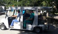 Ambulanta electrica Melex la Spitalul Marius Nasta