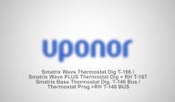 Sistem de comanda inteligent pentru incalzire si racire radianta Smatrix Wave T166/Smatrix Wave PLUS T167/Smatrix Base T146+T148