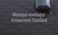 Montajul piesei de ventilatie IKO Armourvent STANDARD