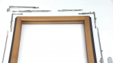 Roto E-Tec Drive - Montaj dispozitiv ascuns pentru ferestre