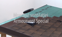 Montajul piesei de ventilatie IKO Armourvent SPECIAL