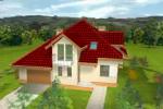 Casa pe structura metalica - Antonella