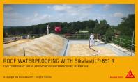 Membrana lichida pentru acoperisuri Sikalastik 851 R