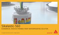 Mebrana lichida de impermeabilizare Sikalastic 560 pentru acoperisuri