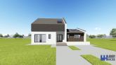 Proiect casa SAMIRA, P+M, 5 camere, 149 mp