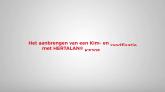 Kim - en randfixatie EPDM dakbedekking HERTALAN®
