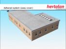 Lipirea membranei Hertalan EPDM Adhered System (Easy Cover)