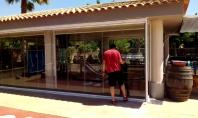 Sistem de geam culisant - batant Nuda pentru inchideri terase/balcoane GAVIOTA