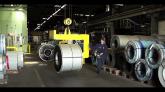 Fabricarea si ambalarea tiglelor metalice Decra