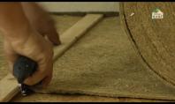 Fonoizolatie din canepa pentru pardoseli din parchet Thermo-Hanf ® STEP