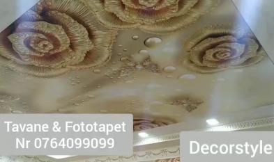 Tavane 3D si fototapet