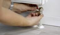 Modul de instalare a elementelor de tip H la radiatoarele cu robinet incorporat