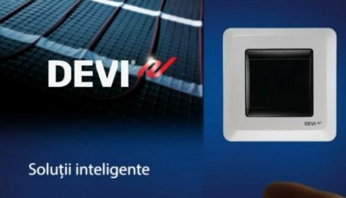 Termostat pentru incalzirea prin pardoseala - DEVIreg™ Touch  DEVI