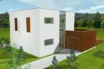 Casa pe structura metalica - Aron