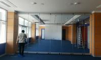 Sistemul armonic glisant Momentum - pereti mobili de sticla