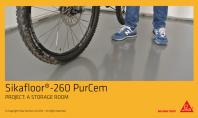 Aplicare profesionala a Sikafloor-260 PurCem Glossy intr-un spatiu de depozitare