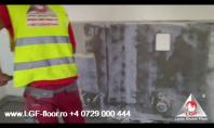 Larex Global Floor - Finisaj pentru suprafete verticale la interior cu Microciment
