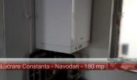 Centrala gaz viessmann cu boiler incorporat 40 litri plus incalzire in pardoseala cu teava Rehau