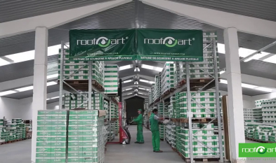 Prezentare linii de productie si birouri ROOFART