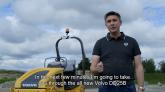 Compactor de asfalt Volvo DD25B