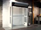 Usa rapida de interior pentru camere curate, sterile - DYNACO D-313 Cleanroom