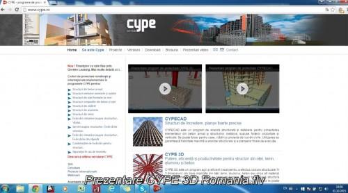 Program de proiectare CYPE 3D CYPE