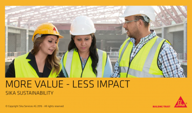 Sika - Un plus de valoare, impact redus