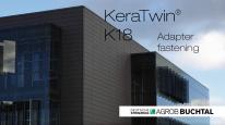 Montaj fatada ceramica - KeraTwin K18