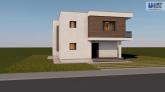 Proiect casa ATENA, P+E, 4 camere, 171 mp