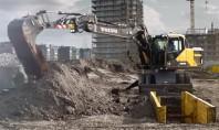 Excavatoare pe roti Volvo EW160E si EW180E - Functii esentiale