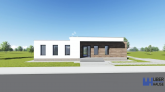 Proiect casa DIENA  Parter  4 camere  126 mp
