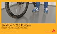 Sapa autonivelanta din poliuretan hibrid Sikafloor®-260 PurCem®