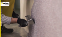 Cum sa aplici tencuiala decorativa tip mozaic weber.pas mozaik