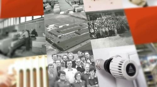 Istoria termostatelor Danfoss DANFOSS