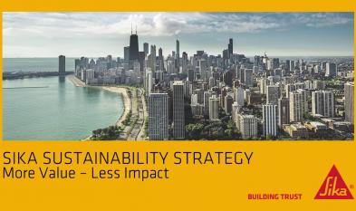 SIKA Sika - Strategia sustenabilitatii