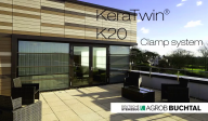 Montaj fatada ceramica - KeraTwin K20 Clamp system