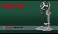 Masina gaurit de banc 710 W Bosch Verde PBD 40
