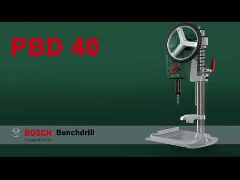 Masina gaurit de banc 710 W Bosch Verde PBD 40 BOSCH