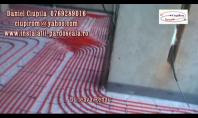 Instalare sistem de incalzire in pardoseala pe Taker
