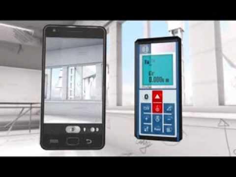 Telemetru cu laser (100 m) cu transfer de date catre telefoane, tablete, PC BOSCH Professional GLM 100 C BOSCH