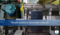Testare seismica rezervoare verticale