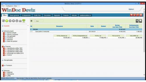 Configureaza Devizul General Softmagazin