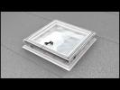 Montaj ferestra pentru acoperis tip terasa - CVP