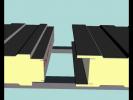 Demonstratie aplicatie panouri perete cu prindere normala