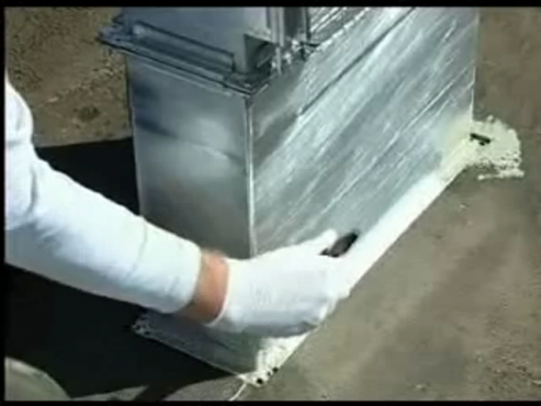 Aplicare in detaliu la sisteme de aer conditionat KEMPER SYSTEM