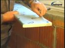 Montaj glafuri interioare - HELOPAL pe spuma